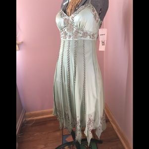 Sue Wong Absolutely stunning silk beaded dress